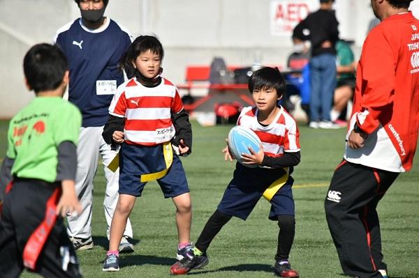 【タグラグビーチーム】小学生タグラグビー和歌山大会に出場しました